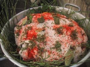 t jambon cru. 3 Once upon a time, un jambon de printemps...