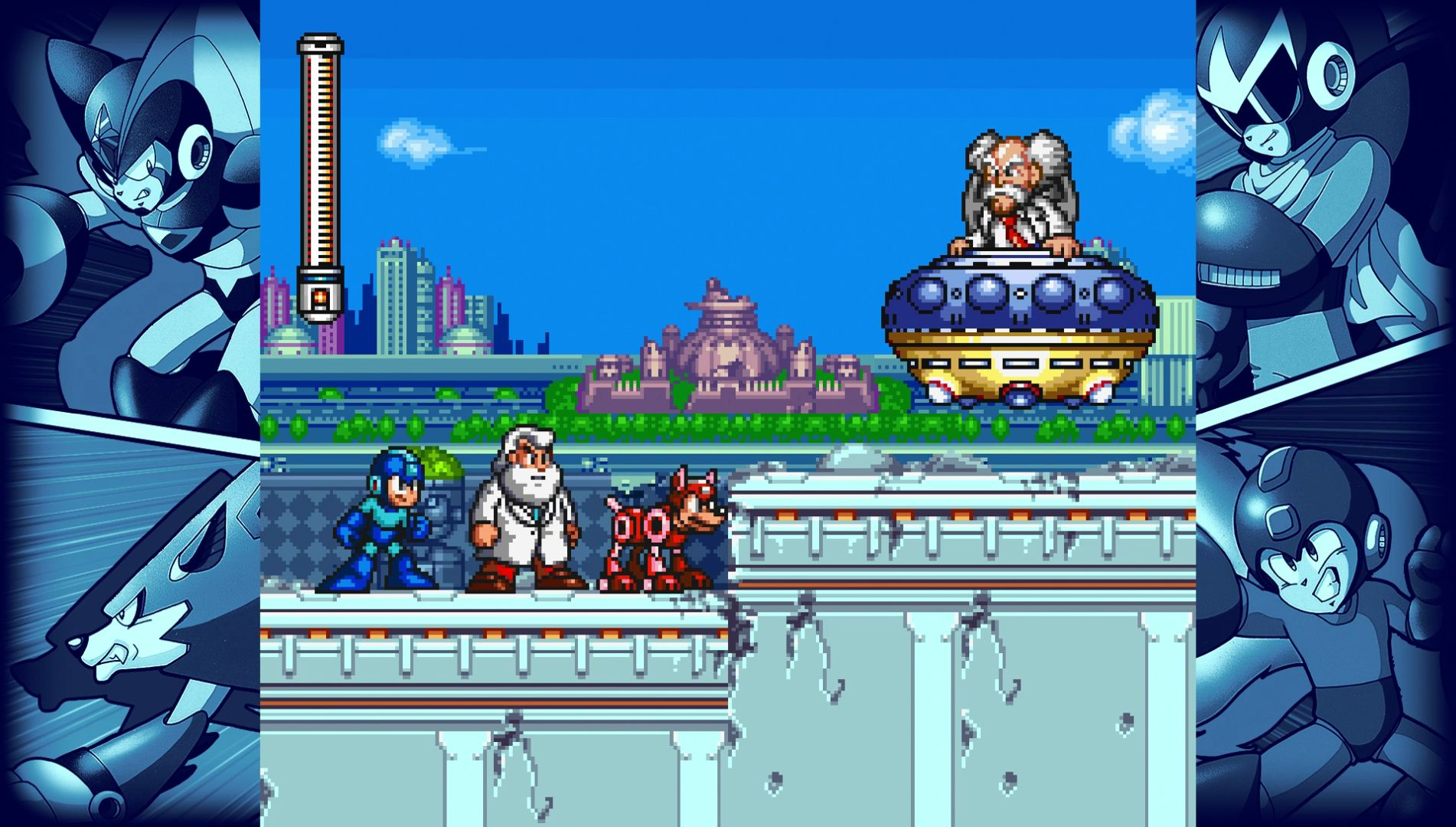 Image result for Megaman legacy collection 2 1920x1080