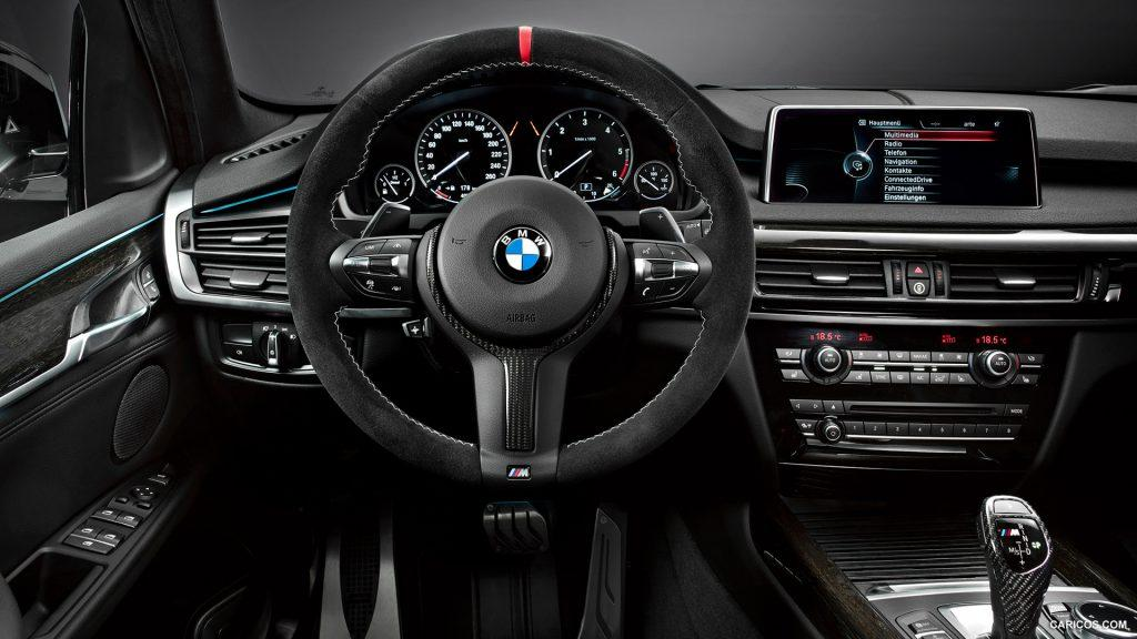 Take a look at the interior of the 2014 BMW X5 interior