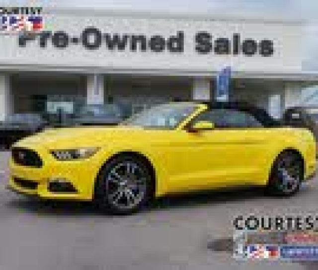 Ford Mustang Ecoboost Premium Convertible Used Cars In Lafayette La