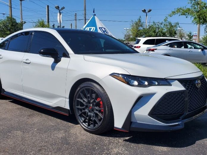 Used 2021 Toyota Avalon Trd Fwd For Sale With Photos Cargurus