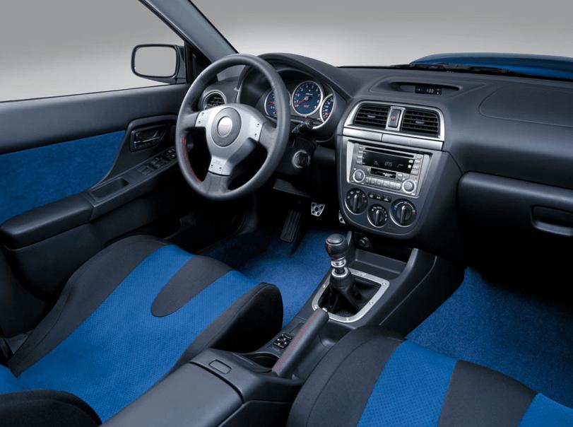 2005 Subaru Impreza WRX STi Interior Pictures CarGurus