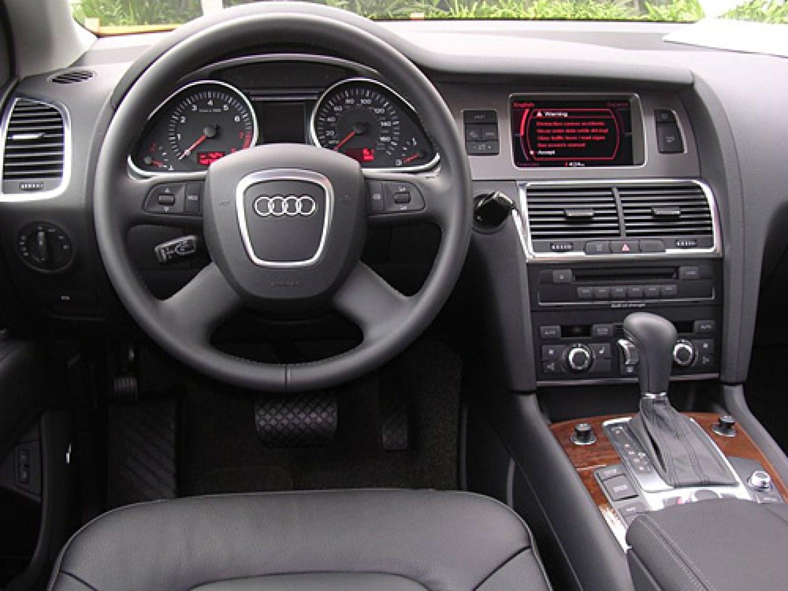 2007 Audi Q7 Interior Pictures Cargurus