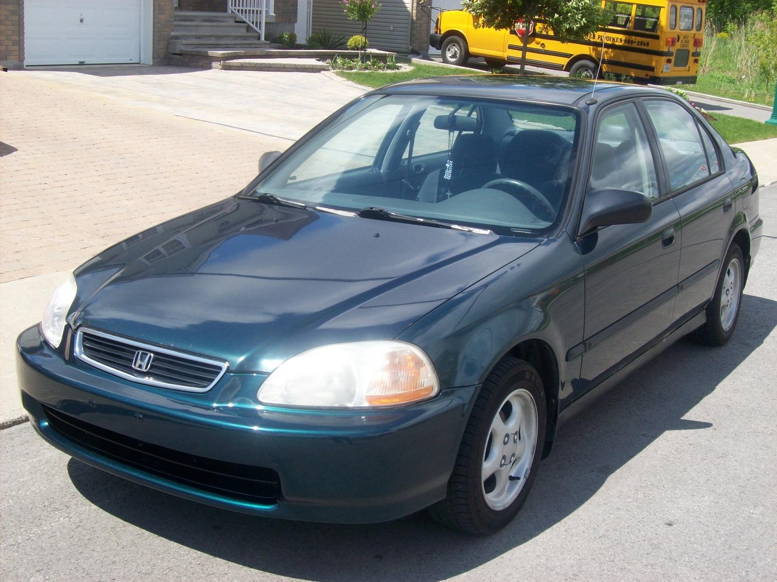 1991 Honda Civic Ex Sedan