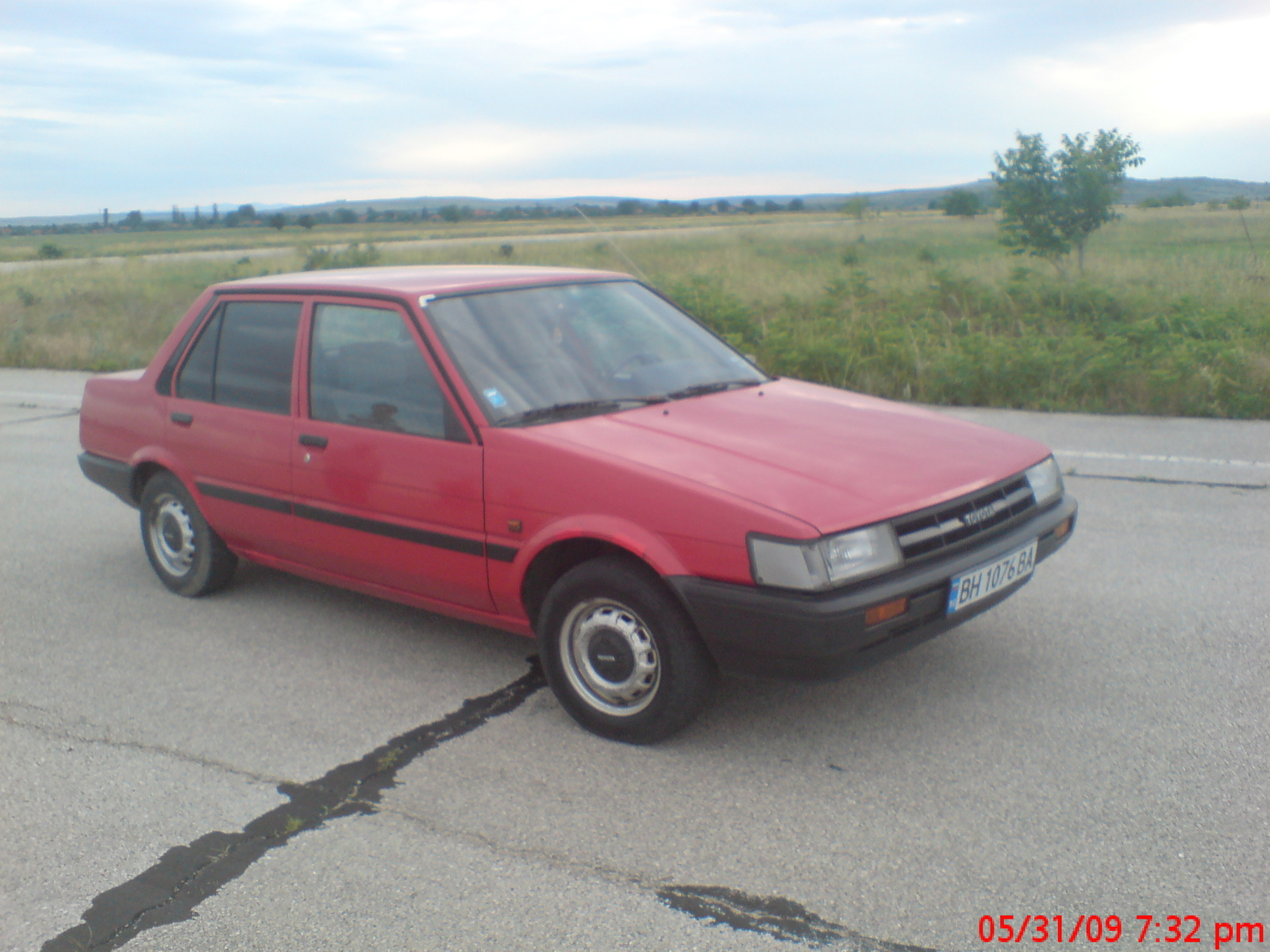 6 1 Toyota Corolla Motor 1986