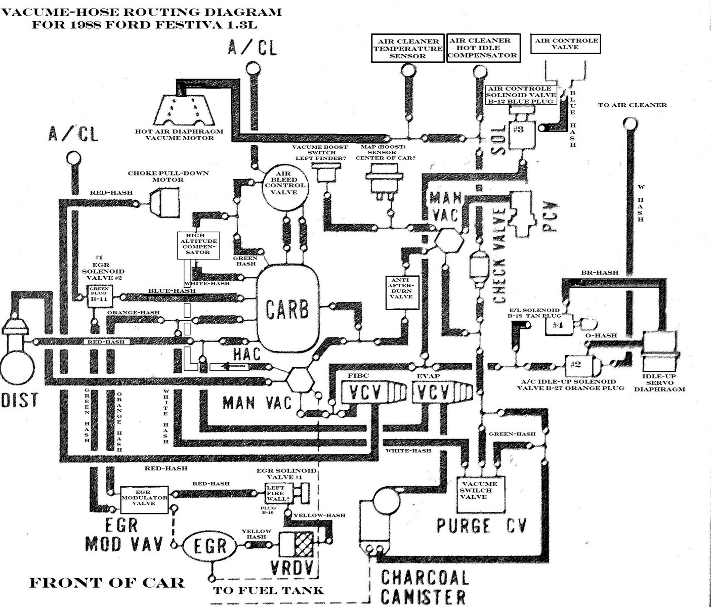 Toyota Pickup Alternator Wiring Diagram