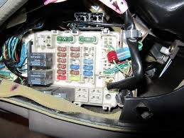 Chrysler Sebring Questions  where is the fuse box located for a 05 chrysler sebring touring