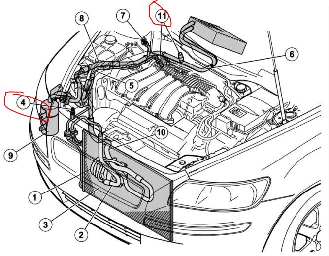 2006 Volvo S60 Parts Diagram