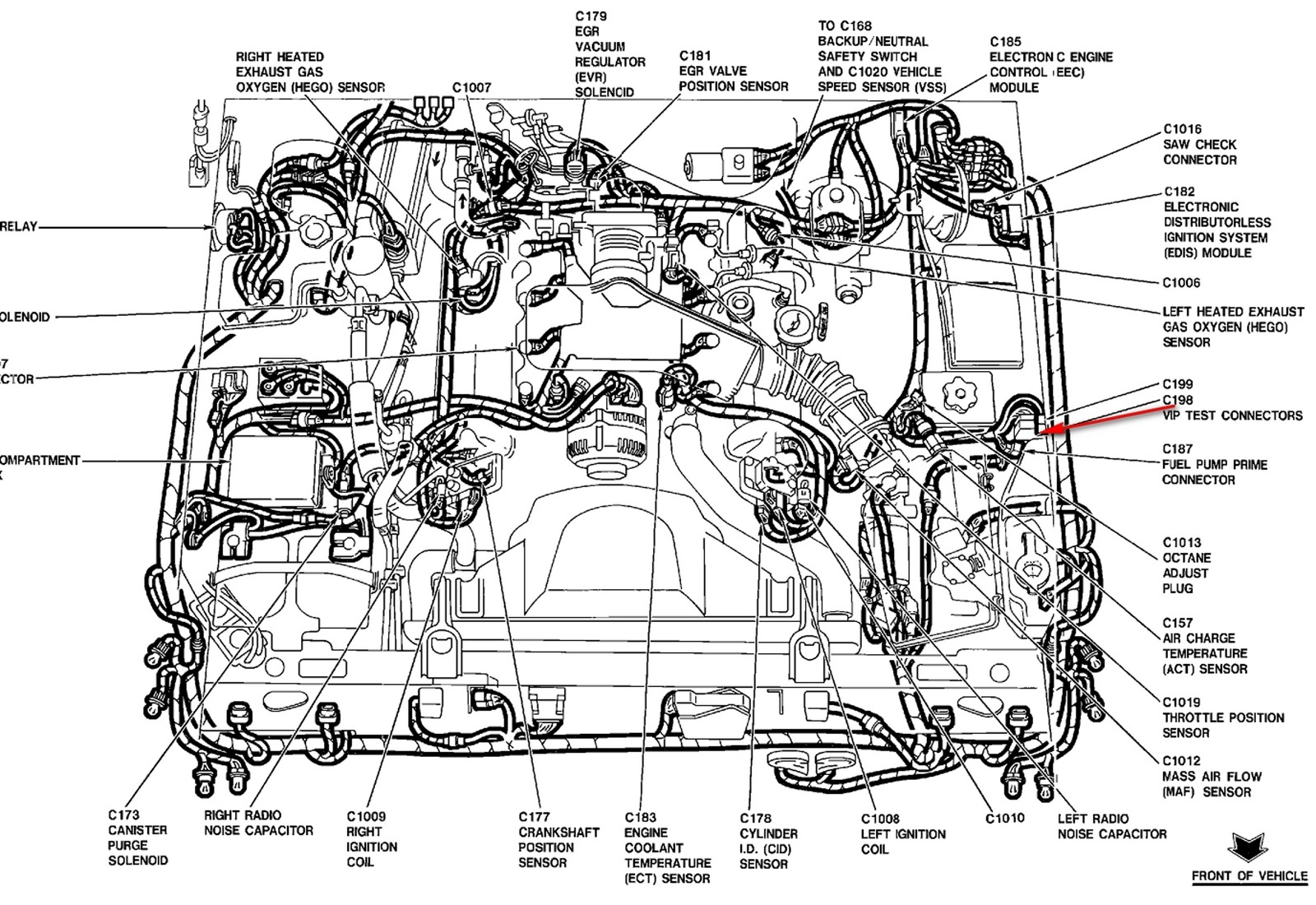 Ford Taurus 3 0 Engine Diagram