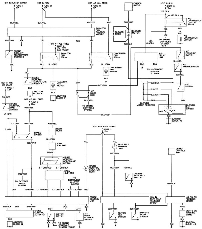 1988 Honda Accord Wiring Diagram Diagrams 1992 Engine 1989 Lights