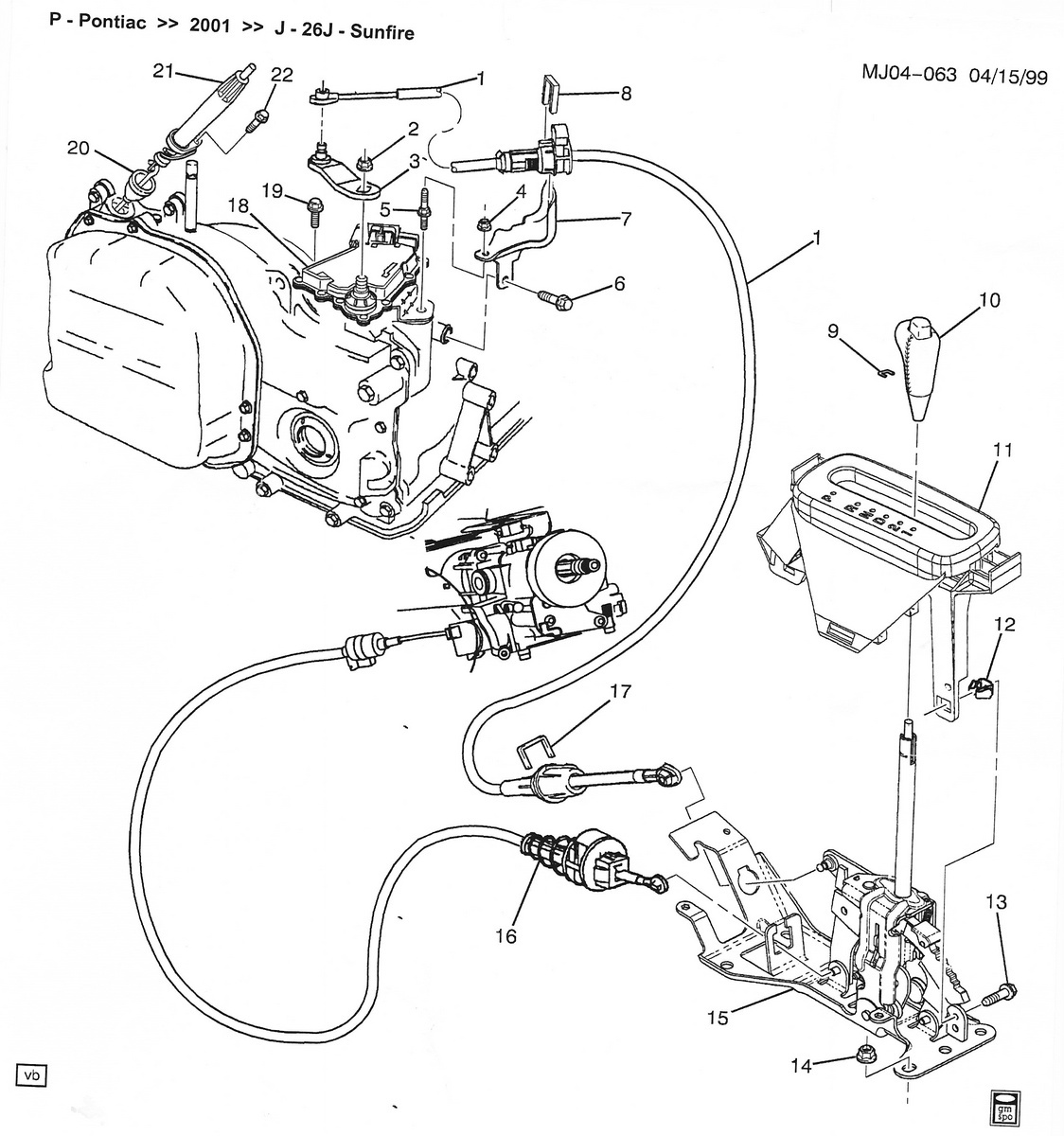 Chevy Cavalier Door Part Diagrams
