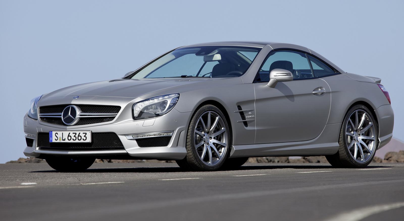 Highlights of Mercedes-Benz SL-Class 2014