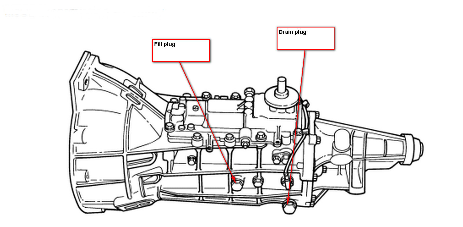 Ford Manual Transmission Diagram