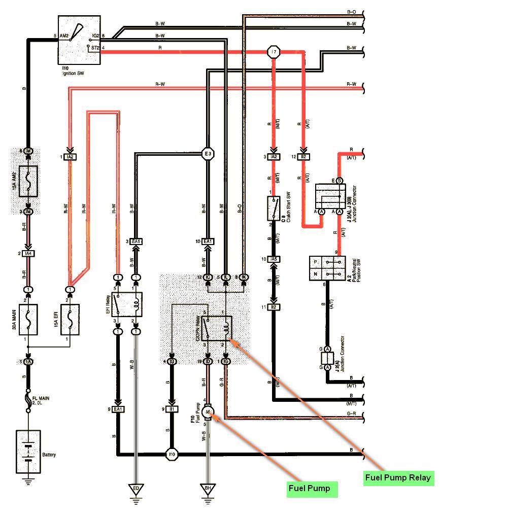 1988 Toyota Pickup Wiring Diagram