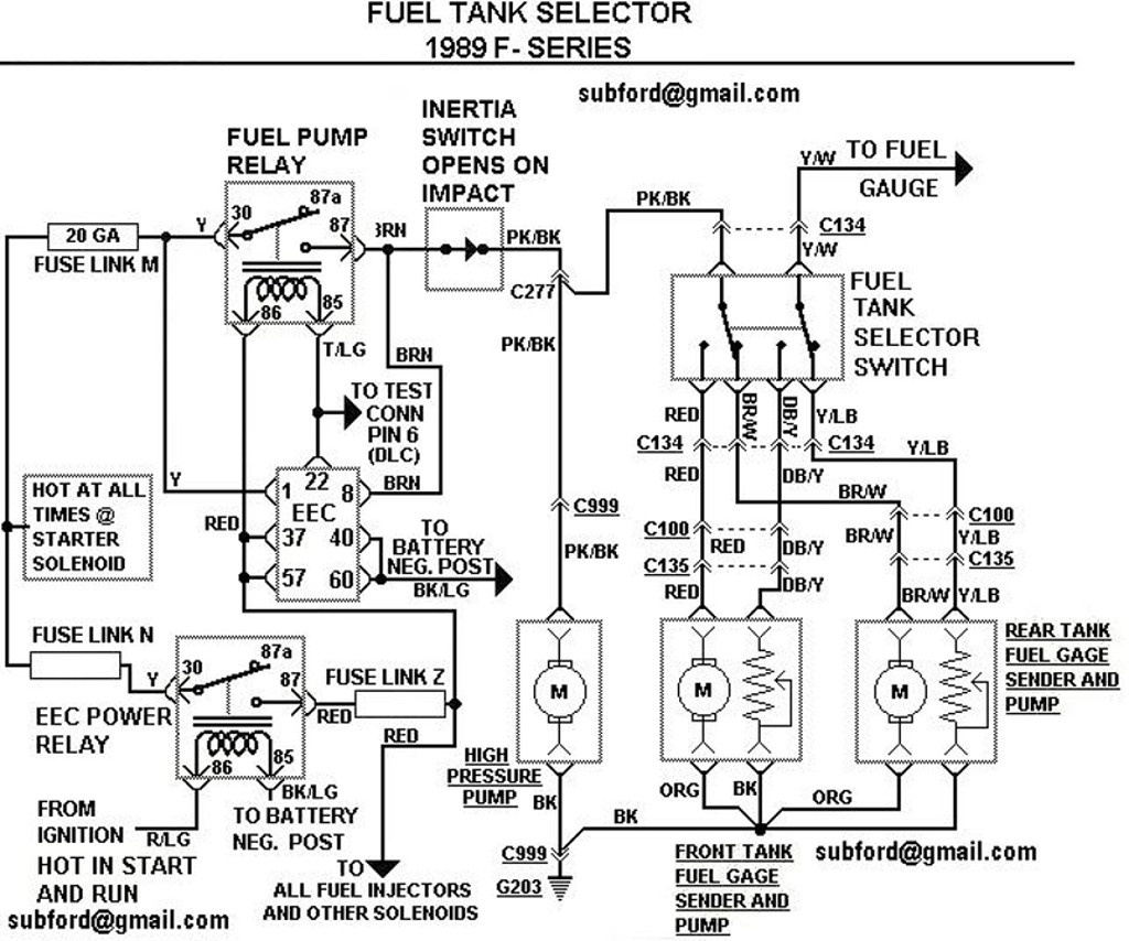 89 nissan fuel pump wiring wiring diagram database rh brandgogo co 86 mustang fuel pump wiring