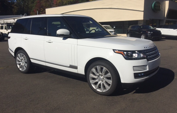 2008 Supercharged White Range Rover