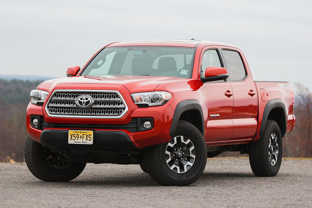 2016 Toyota Tacoma Test Drive Review Cargurus