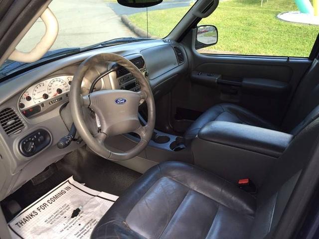 2003 Ford Explorer Sport Trac Interior