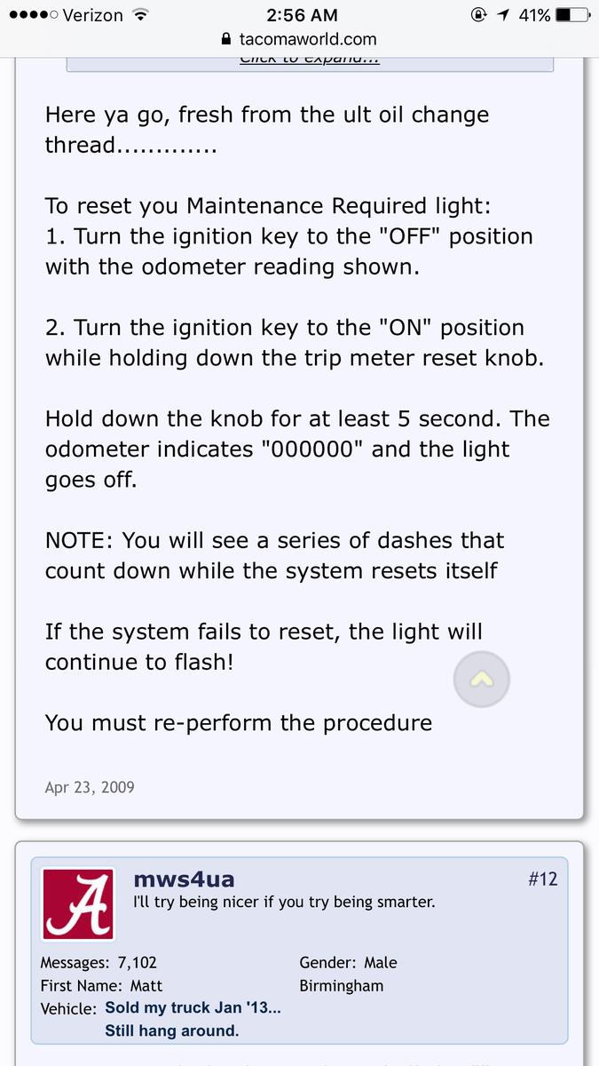 Camry Maintenance Required Light Blinks Mouthtoears Com