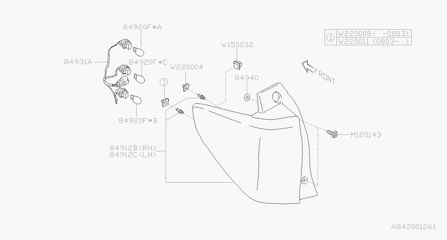 32 Subaru Parts Diagram