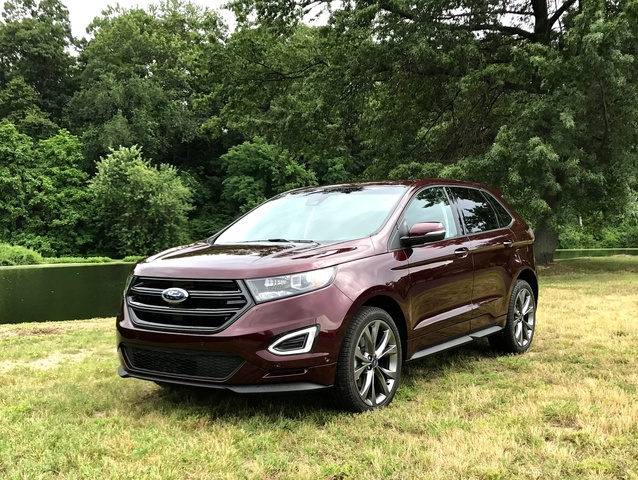 2017 Ford Edge Sport Front