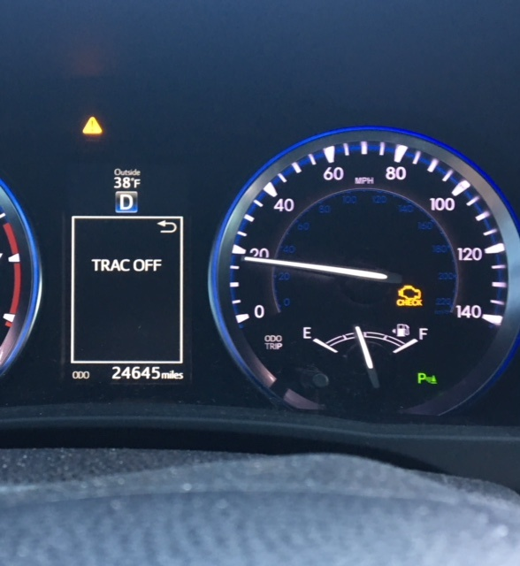 Sii Engine Light Question: 2017 Toyota Tacoma Check Engine Light And Trac Off
