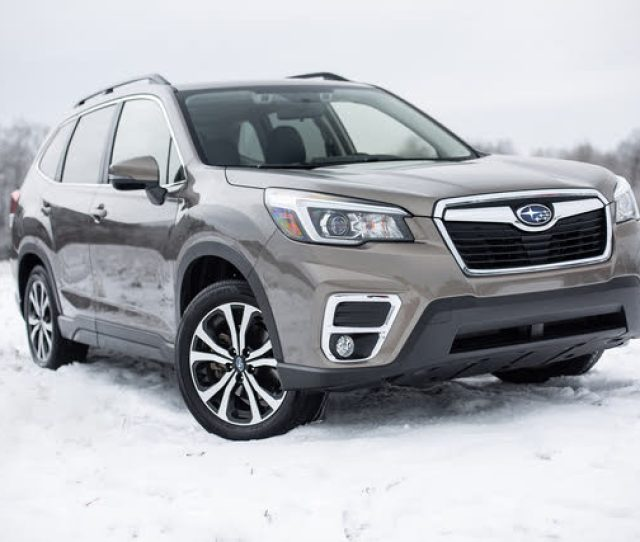 2019 Subaru Forester Snow