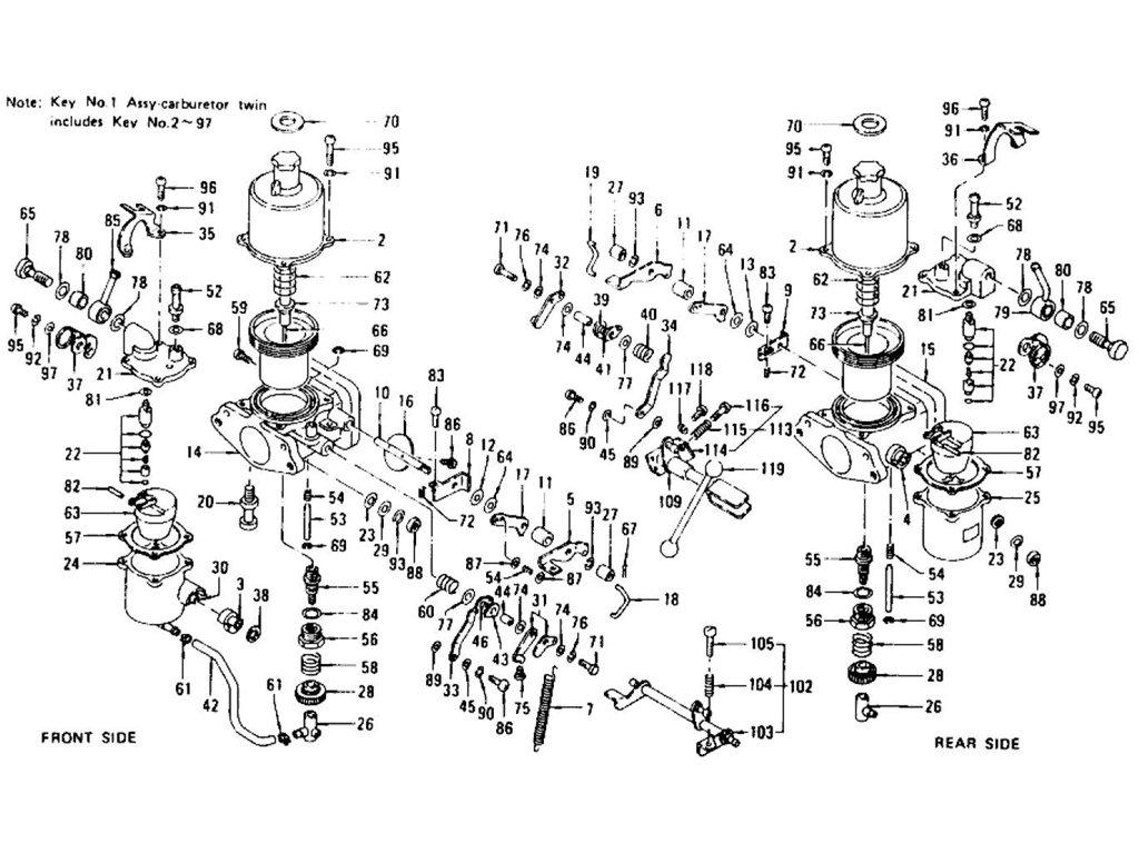 Datsun Z Carburetor L24 Index
