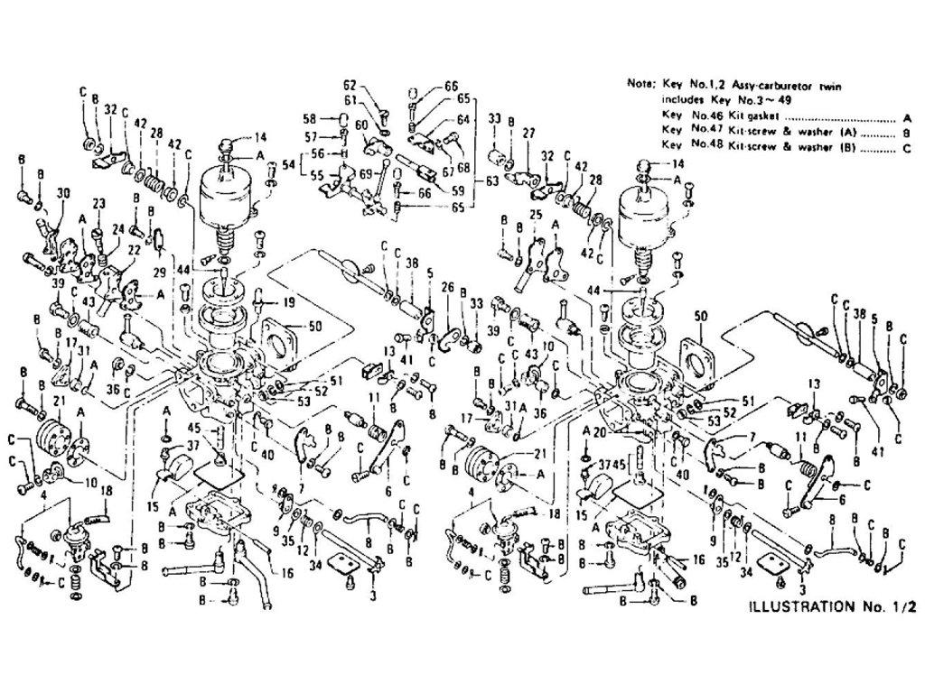 Datsun Z Carburetor L24 From Jul 72 To Jul 73