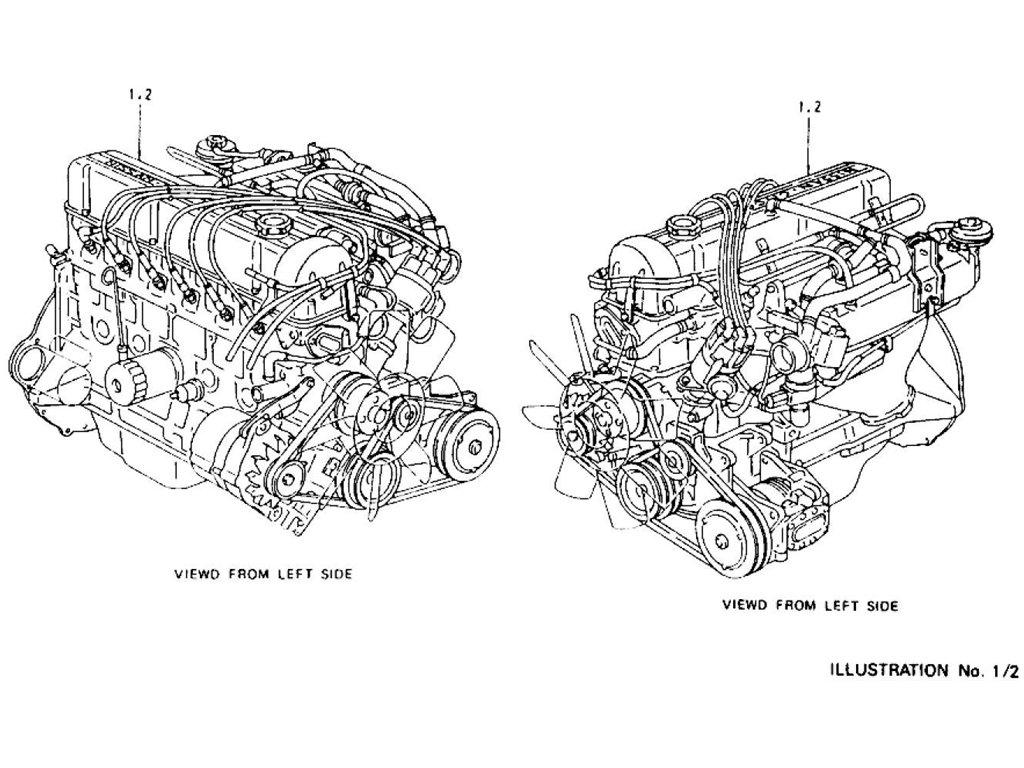 Datsun Z Engine Index L28e