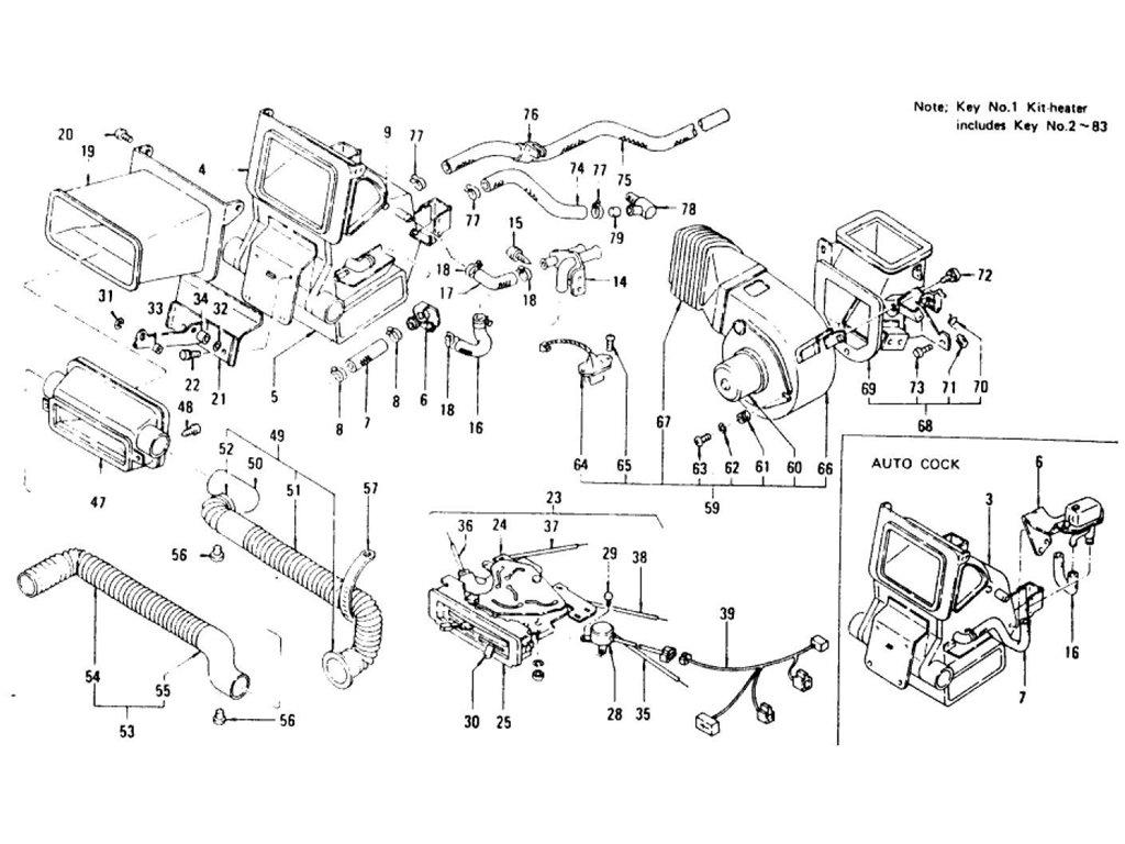 Datsun Z Car Heater From Aug 73