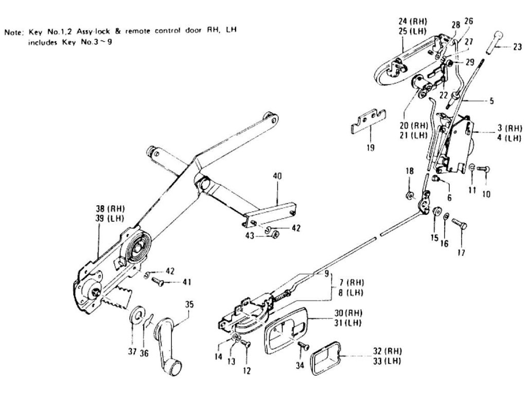 240z Body Parts Pictures To Pin