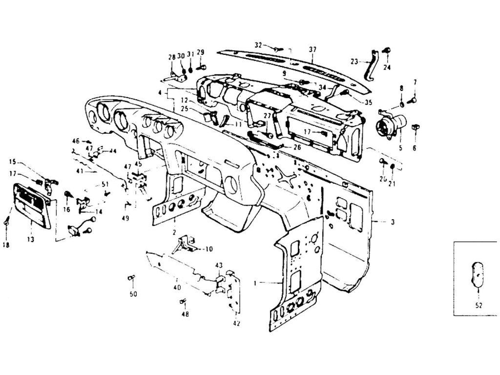Datsun Z Dash Panel Dash Side Panel Amp Instrument 2 2