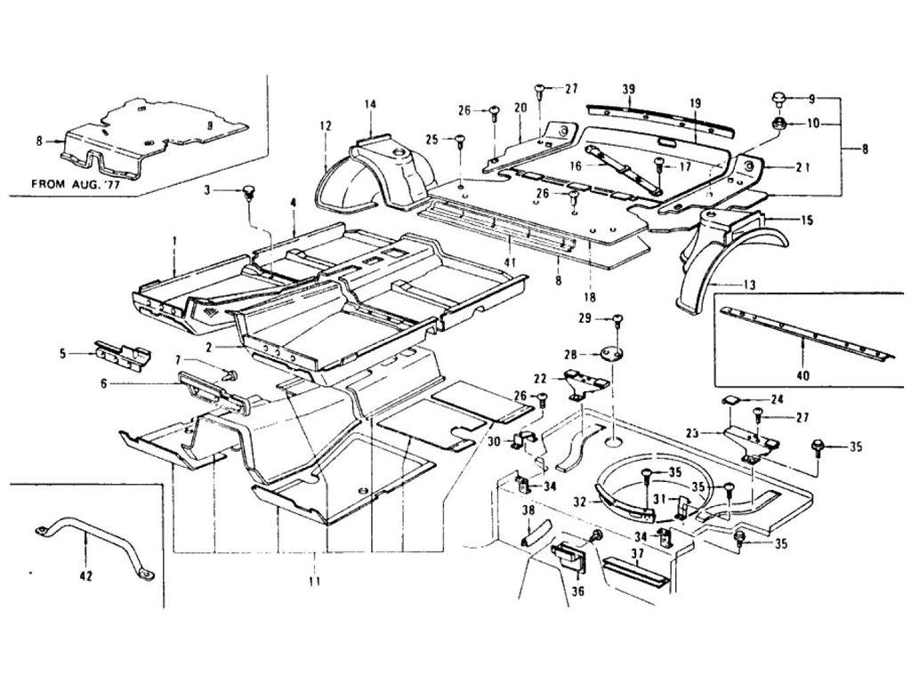 1976 Toyota Pickup Wiring Harness Diagram