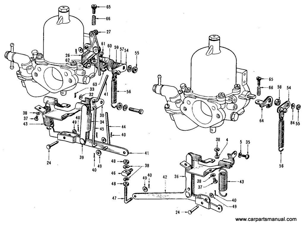 Datsun Bluebird 410 Carburetor Twin Ss