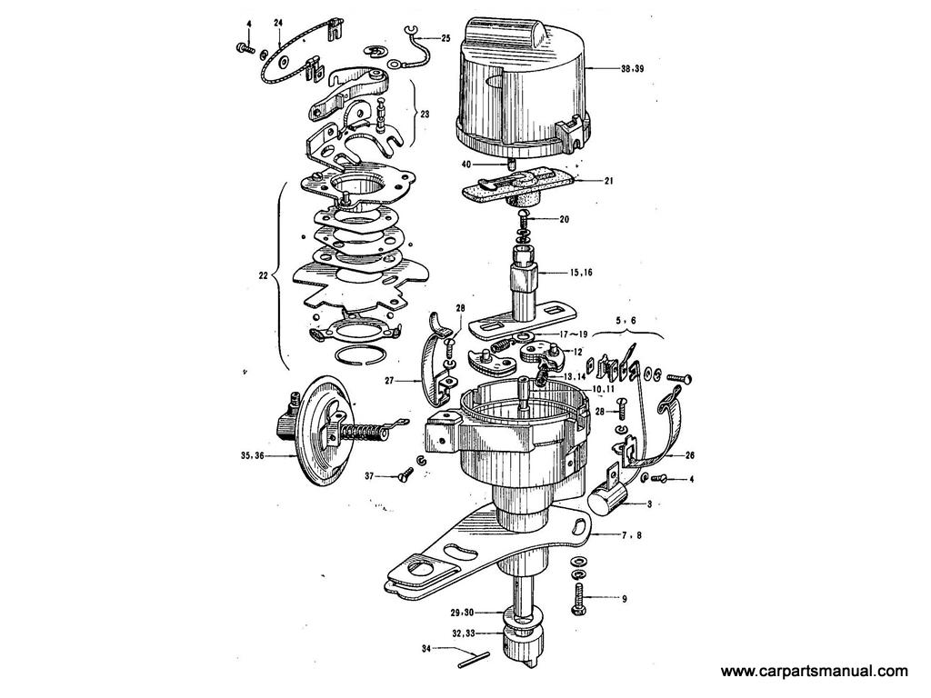 Datsun Bluebird 411 Electrical