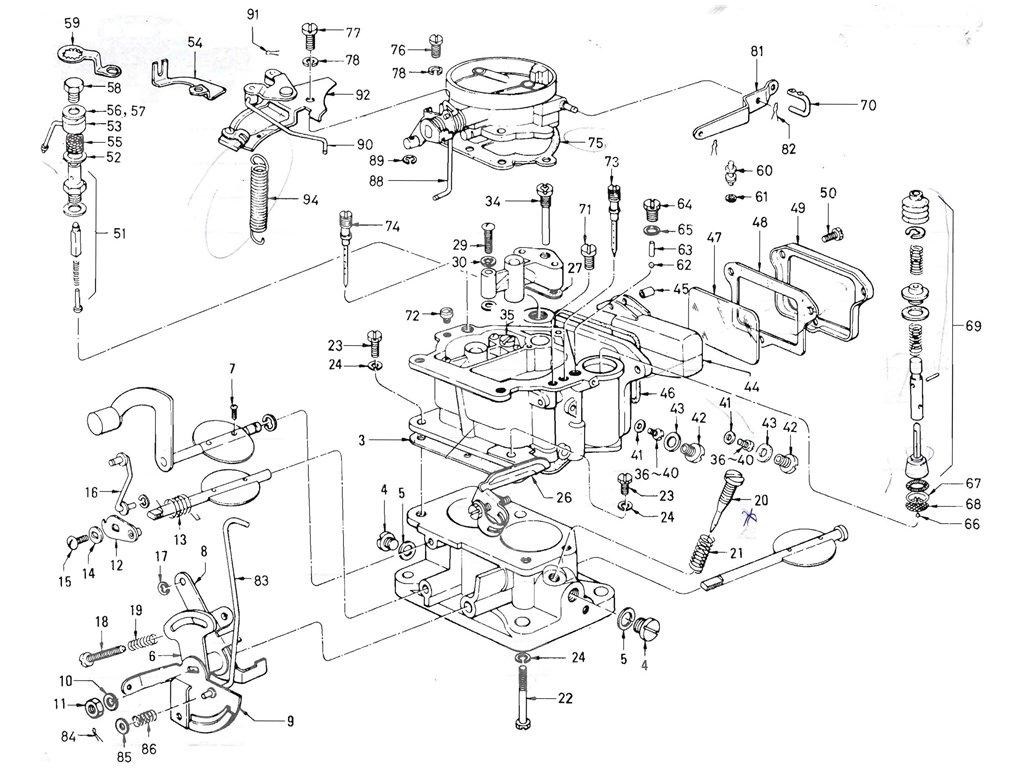 Datsun Pickup 520 521 Carburetor Nikki Exc Ltu
