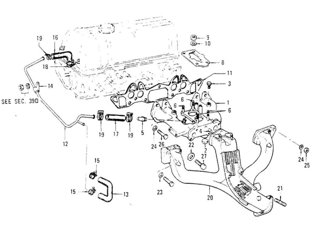 Datsun Pickup 620 Manifold L18