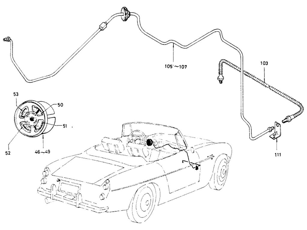 Datsun Sports Speedometer Tachometer Amp Gauges