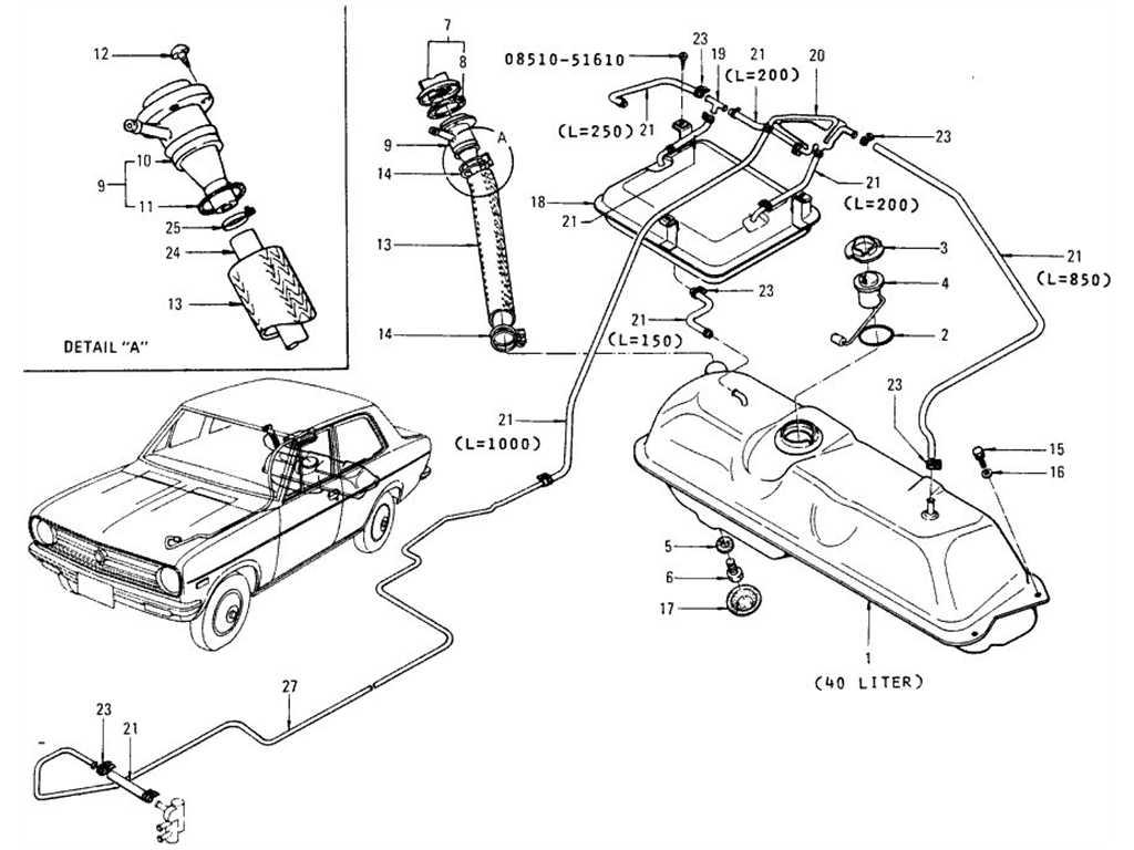 Datsun Fuel Gauge