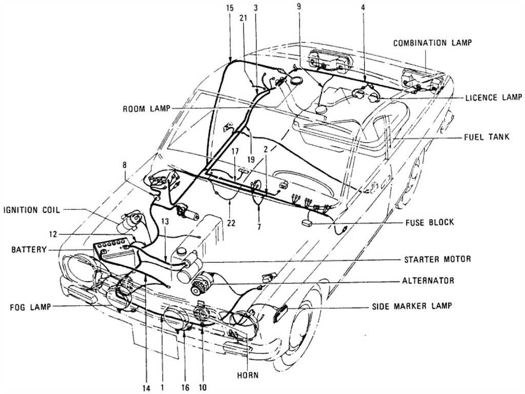 Datsun Wiring Diagram