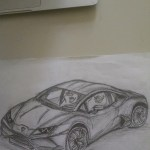 First Lamborghini Drawing Lamborghini Huracan Anyone Have Any Advice On Drawing Rims And Tires Better