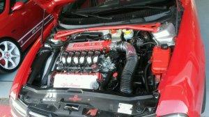 Alfa Romeo 156 GTA engine bay I saw 3 weeks ago Who says