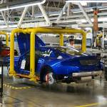 With The Engine In The Gt8 Is Really Taking Shape As It Now Heads On Down The Production Line At Astonmartinlagonda Astonmartin Vantage Gt8 Vantagegt8 Futureshmeemobile Factory Shmee150