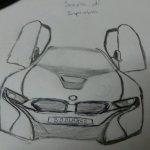 Bmw I8 Art Hw