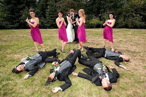 Foto engraçada de casamento | rollingout.com