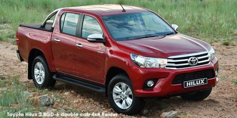 New Toyota Hilux 24GD 6 Double Cab 4x4 SR Up To R 38328