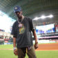 Travis Scott baseball dodger stadium