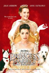 Poster The Princess Diaries 2: Royal Engagement