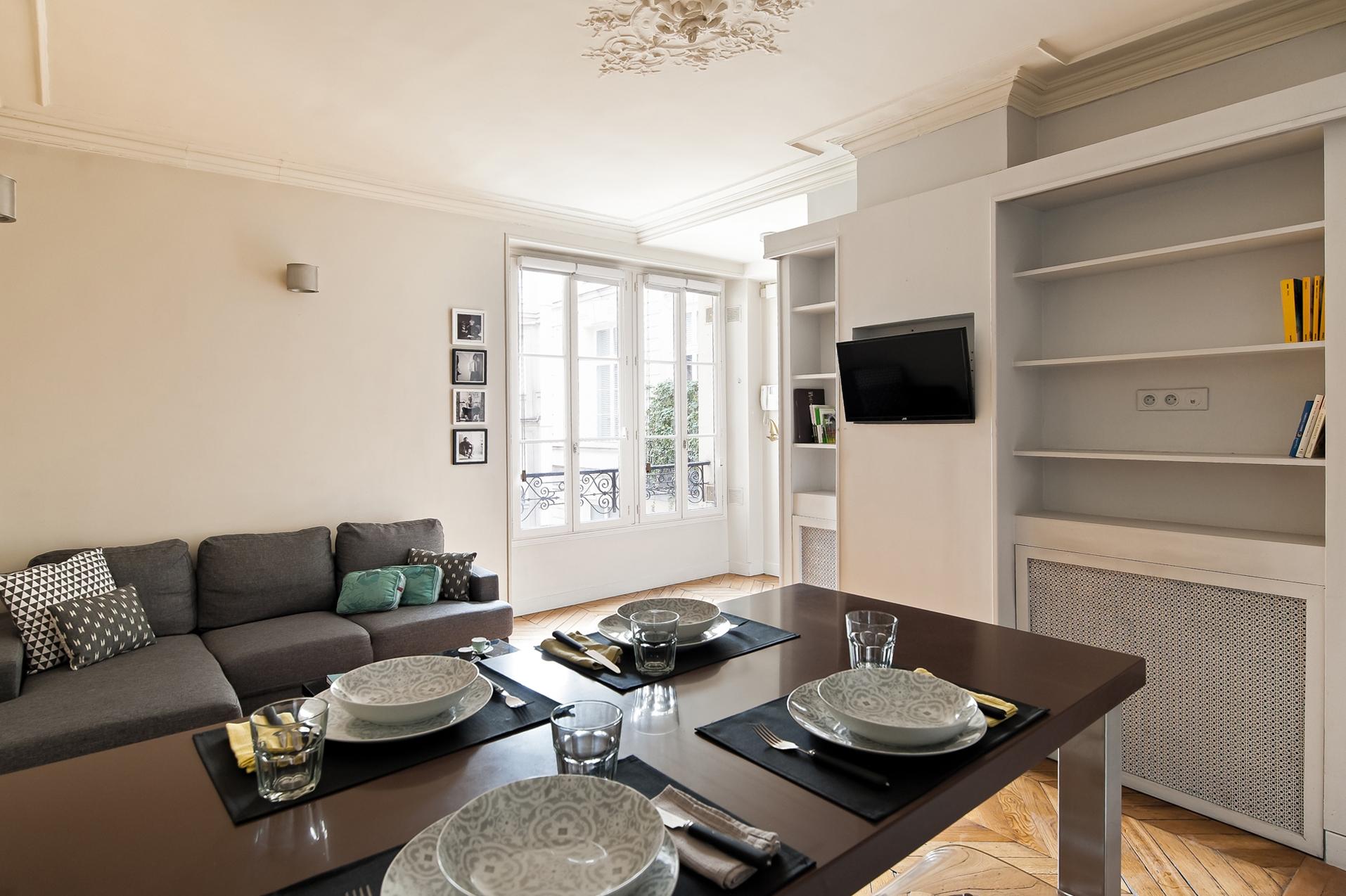 Best Kitchen Gallery: Paris Vacation Rental 1 Bedroom Wifi 3 ème Le Marais Apartment of Paris Vacation Apartment Rentals  on rachelxblog.com
